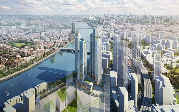 Future view of Nine Elms